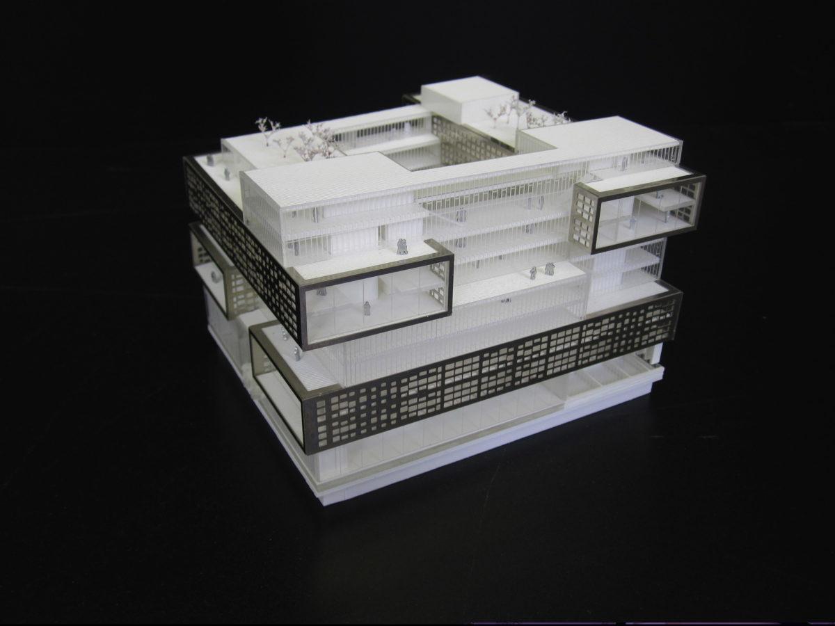 Alpha volumes maquette de concours for Maquette d architecture