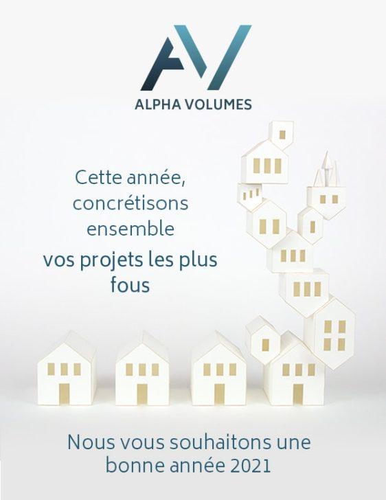 Alpha Volumes vous souhaite une bonne année 2021