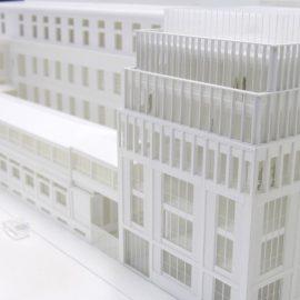 maquette de l'extension de l'école nationale supérieure d'architecture